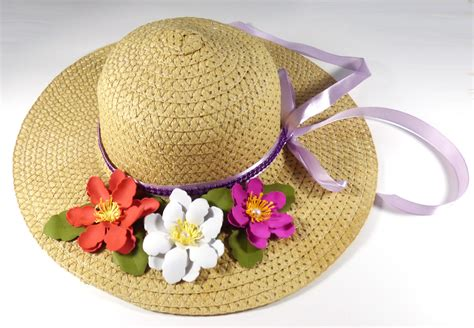 Spring Hat - Pazzles Craft Room