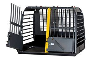 Double Dog Crate For Cars - Dog N Treats