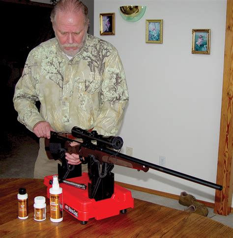 7 Images of People Cleaning their Guns