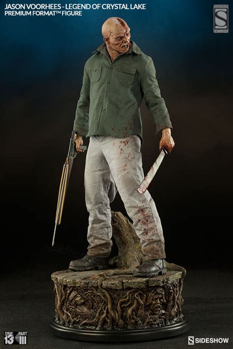 Sideshow Jason Voorhees Statue Official Photos and Info