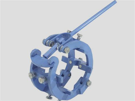 Mechanical Cage Pipe Clamps - Heavy Version   DWT PipeTools