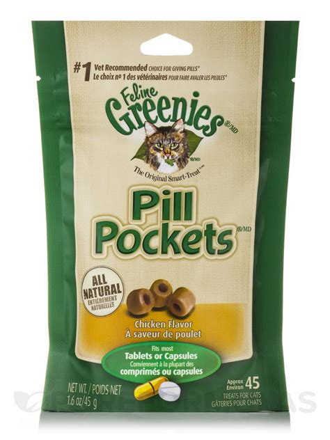 Pill Pockets® Chicken Flavor for Cats (Tablets or Capsules