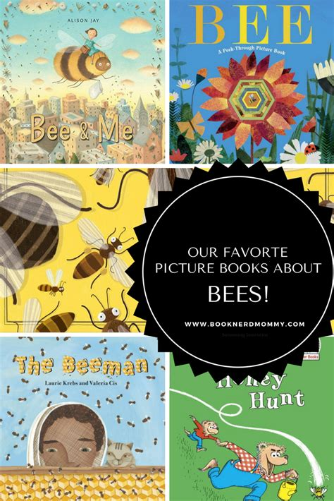 Our Favorite Picture Books About Bees · Book Nerd Mommy