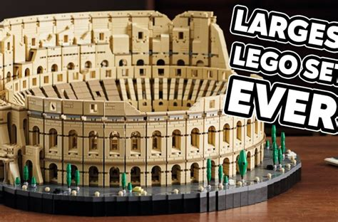 Official Images! Huge LEGO Colosseum Set with 9,000