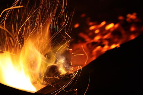 Free Images : abstract, night, smoke, spark, flame, fire