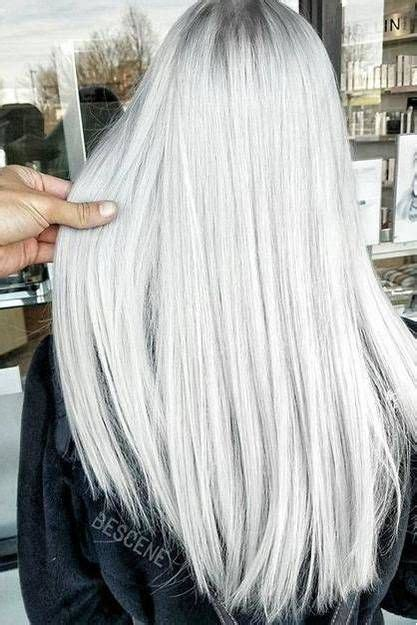 Ash Blonde Hair Colors We Love   Grey hair color, Colored