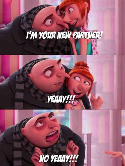 Is it silly that I always laugh with Gru?