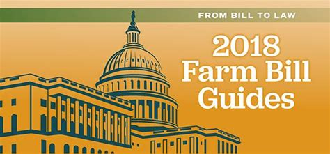 2018 Farm Bill Guides   Department of Agricultural