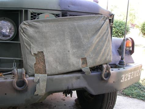 M35 - fixing up the passenger seat