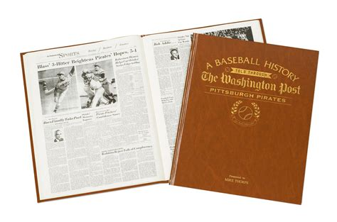Pittsburgh Pirates Newspaper History Book   In The Book
