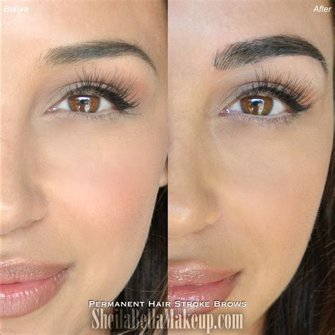 Microblading Brows : Sheila Bella Permanent Makeup and