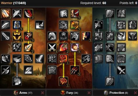 Classic Warrior DPS Spec, Builds, and Talents - WoW