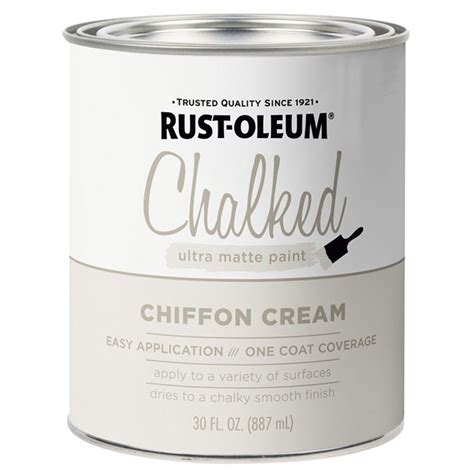 Rust-Oleum 329598 Chalked protective topcoat Ultra Matte CHI