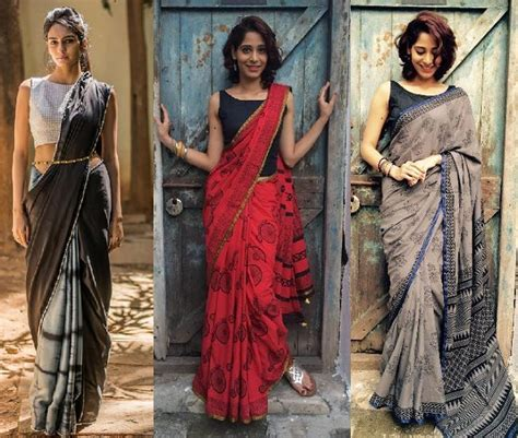 8 Unmatched Tips to Don Saree Blouse Gorgeously - LooksGud