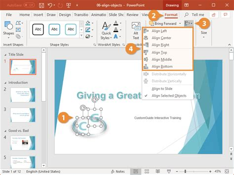 Smart Guides in PowerPoint   CustomGuide