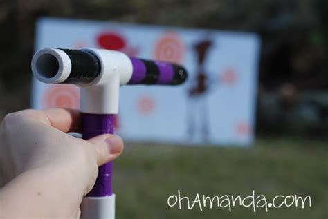 How To Make a Mini Marshmallow Shooter Gun From PVC Pipe