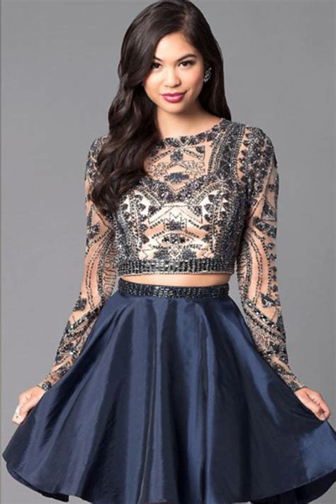 19 Best Two Piece Prom Dresses of 2018 - Stylish Crop Top