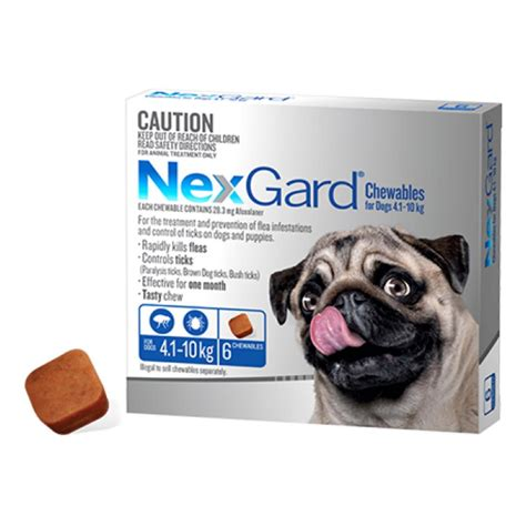 NEXGARD® CHEWABLES FOR SMALL DOGS 4