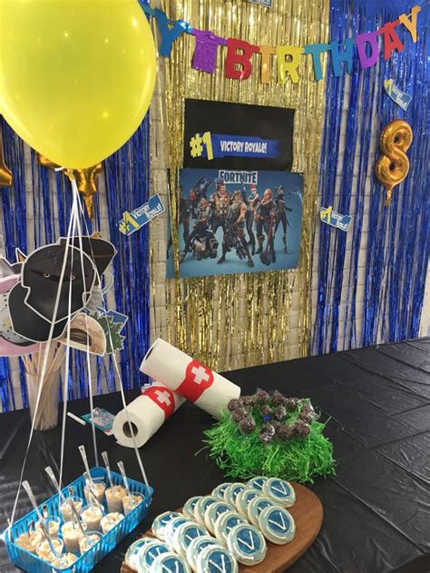 Pin by Rita Quiroz on Fortnite party ideas   Birthday