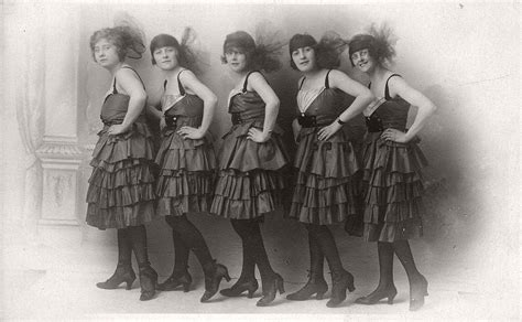 Vintage: Group photos of Dancing Girls (1910s-1930s
