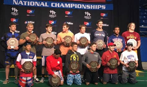 InterMat Wrestling - Parriott, Colbray double champs as