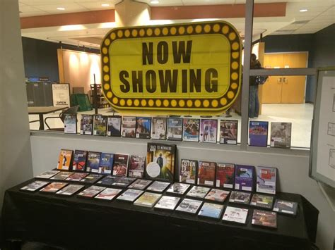 New display of educational films now up at Education