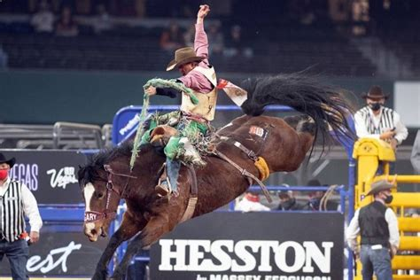 Ground News - 2020 NFR Texas 3rd go-round results