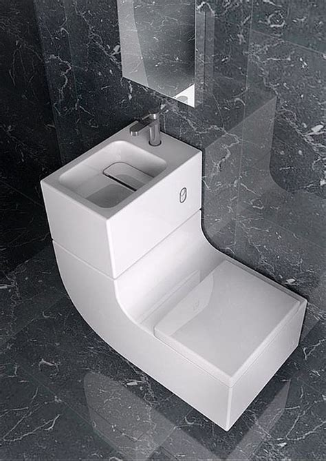 Sleek Sink/Toilet Combo is an All-in-One Greywater