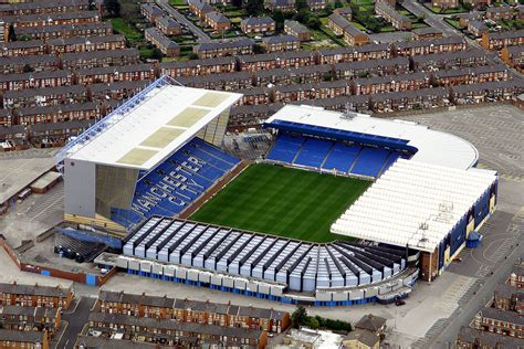 Maine Road in 2002   Manchester City Football Club's