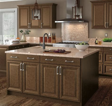Benton Base Cabinets in Butterscotch – Kitchen – The Home