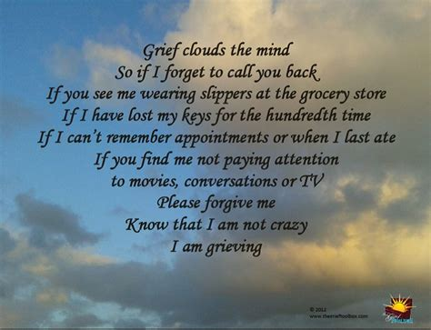 Grief Clouds The Mind | The Grief Toolbox