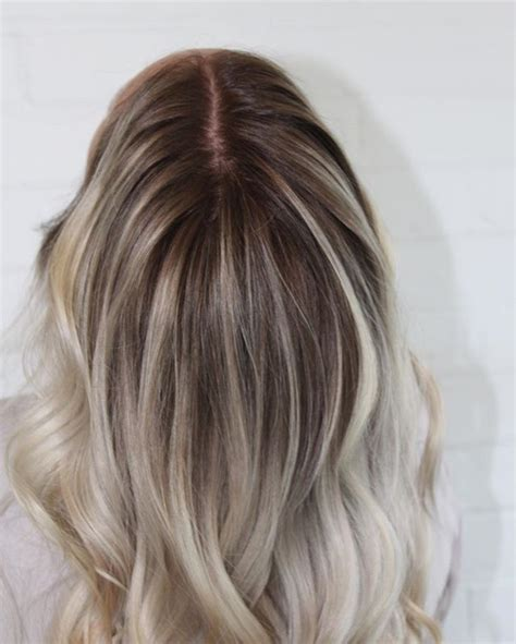Smudged root for the win!! | Ash blonde hair colour, Roots