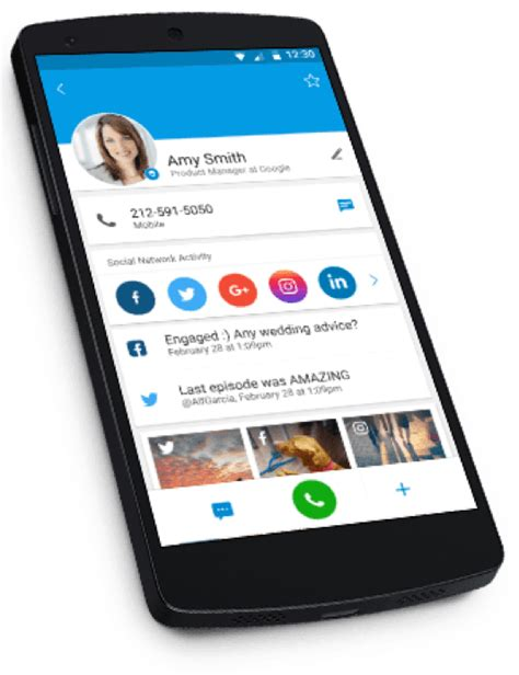 Contacts Feature - Phone contacts & CallApp+ app - CallApp