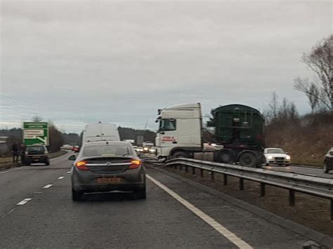 A92 delays after lorry crash | Fife Today