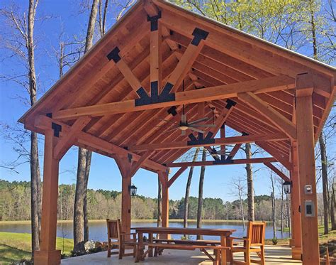 The Thick Timber Toledo Wood Pavilions | Forever Redwood