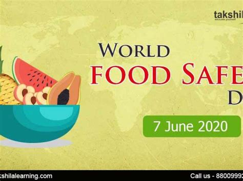 World Food Safety Day 2020: Significance and Importance