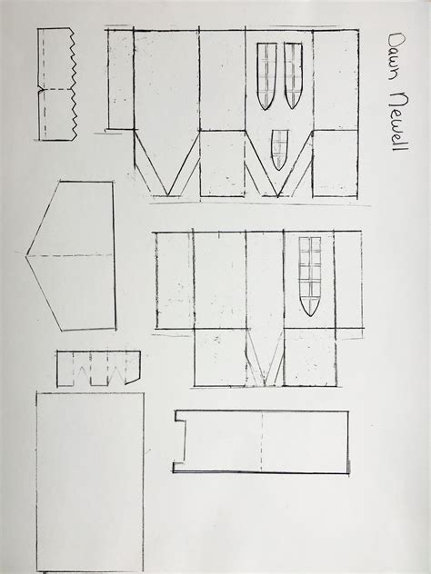 My pattern I designed for you! (With images)   Putz houses