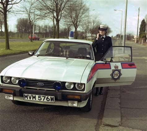 Back in the Eighties   A Greater Manchester Police officer
