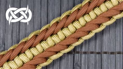 How to make a Rigid Genoese Paracord Buckle Bracelet