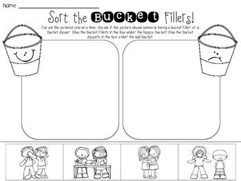 Free Bucket Filler and Bucket Dipper Sort {Perfect for