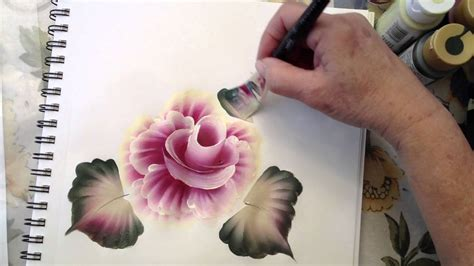One Stroke Painting: How To Use the Angle Brush