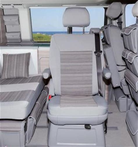 VW T5 & T6 Caravelle, California & Beach removable Fifth