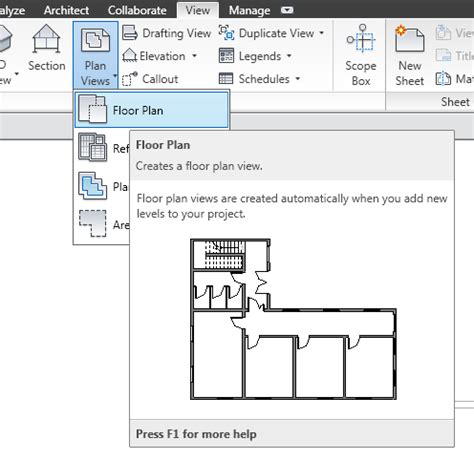 Creating The first set of Views - Revit MEP