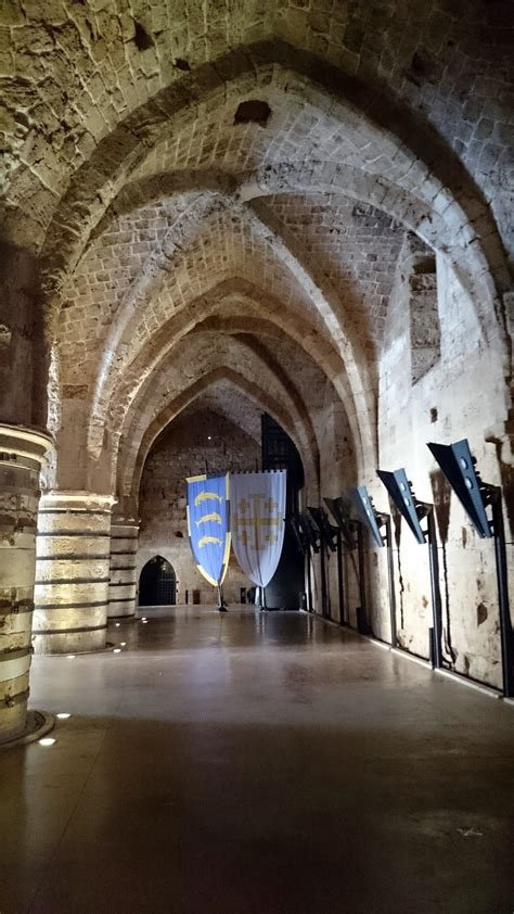 Crusader Fortress : Old City of Acre – Northern Israel
