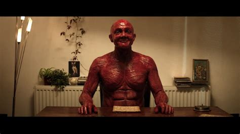 A Peculiar Short Film Of A Man Taking His Skin Off To