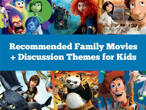 6 Family Movies with Discussion Themes for Kids - Moments