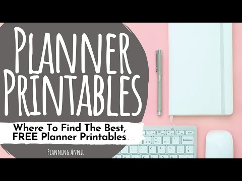 15+ Totally FREE Bullet Journal Printable To Organize Your