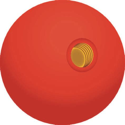 BOAT MARINE RED REPLACEMENT KNOB FOR Most Twin Lever